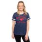SMU Mustangs Nike Slub Fan Ringer T-Shirt
