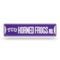 TCU Horned Frogs Bling Street Sign