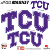 TCU Horned Frogs 8x8 Multi-Pack Magnets