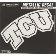 TCU Horned Frogs 6x6 Metallic Decal
