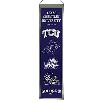 TCU Horned Frogs Heritage Banner