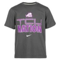 TCU Horned Frogs Nike Youth Tee