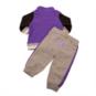 TCU Horned Frogs Colosseum Infant Team Captain Fleece Set
