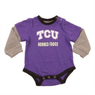 TCU Horned Frogs Colosseum Infant Thermal Onesie