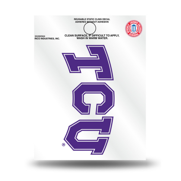TCU Horned Frogs Small Static Decal