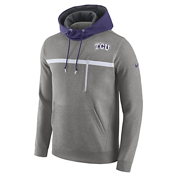 TCU Horned Frogs Nike College Championship Drive Fleece Pullover Hoody