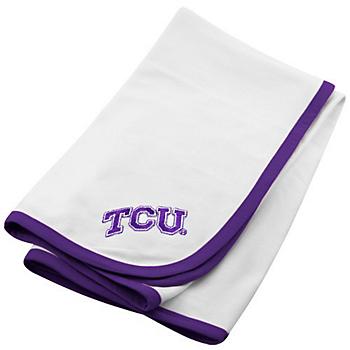 TCU Horned Frogs Baby Blanket