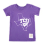 TCU Horned Frogs Toddler State Out T-Shirt