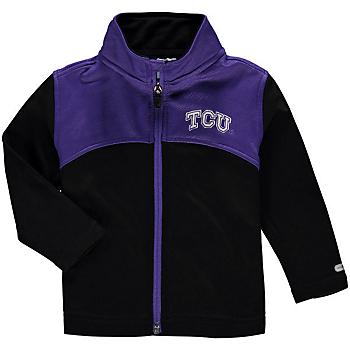 TCU Horned Frogs Colosseum Sleet Full-Zip Fleece Jacket