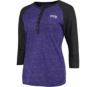 TCU Horned Frogs Colosseum Womens Split 3/4 Sleeve Top