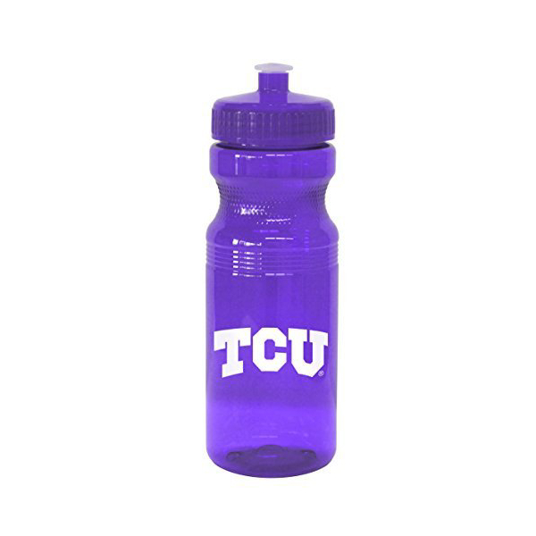 TCU Horned Frogs 24 oz. Squeeze Water Bottle