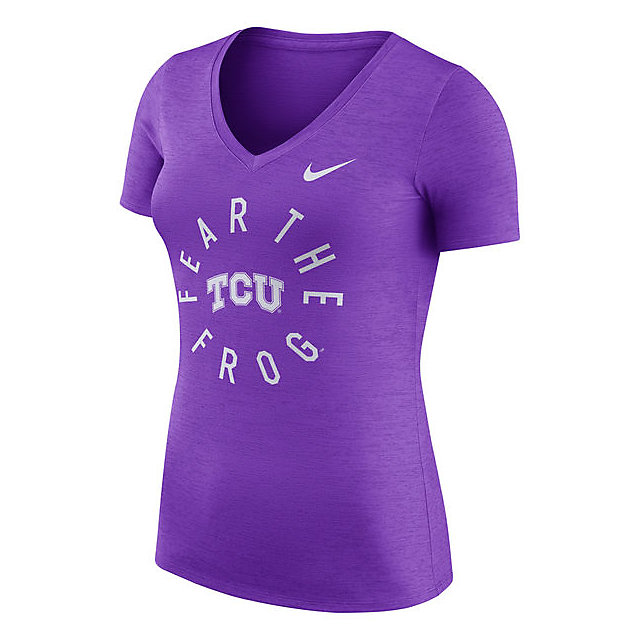 TCU Horned Frogs Nike Womens Dri-FIT Touch Tee