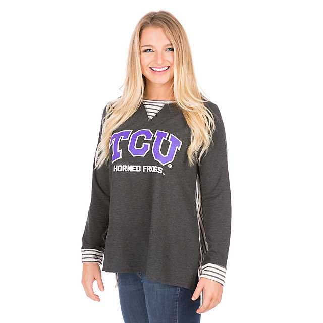 TCU Horned Frogs Womens Back Panel Tunic