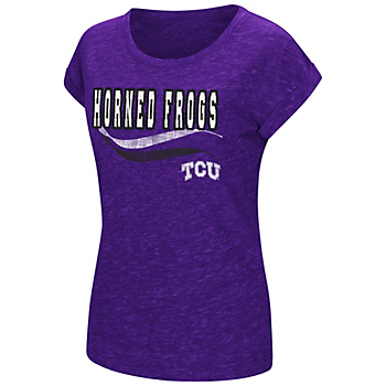 TCU Horned Frogs Colosseum Womens Slalom Speckle Yar Tee