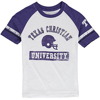 TCU Horned Frogs Colosseum Youth All-Pro Raglan Tee
