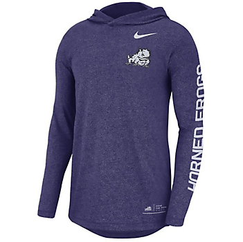 TCU Horned Frogs Nike Hooded T-Shirt