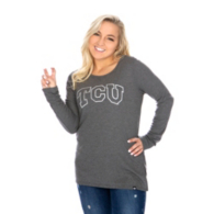 TCU Horned Frogs 47 Womens Campbell Thermal T-Shirt