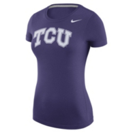 TCU Horned Frogs Nike Womens Logo Tee