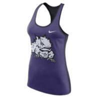 TCU Horned Frogs Nike Womens Dri-FIT Tank