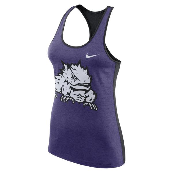 TCU Horned Frogs Nike Womens Dri-FIT Tank