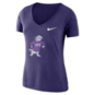 TCU Horned Frogs Nike Womens Tri Vault Tee