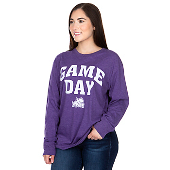 TCU Horned Frogs Pressbox Game Day T-Shirt