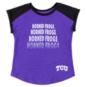 TCU Horned Frogs Colosseum Toddler Girls Go Kart Cuffed Short Sleeve T-Shirt