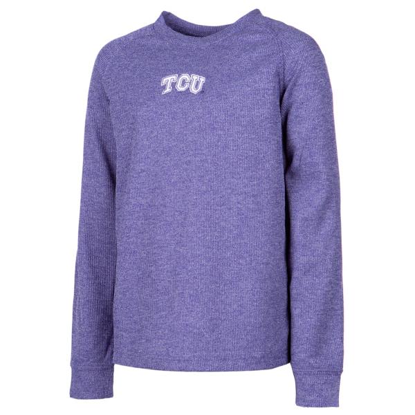TCU Horned Frogs Youth Colosseum Viper Vennaro Raglan T-Shirt