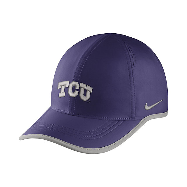 TCU Horned Frogs Nike Featherlight Aerobill Cap