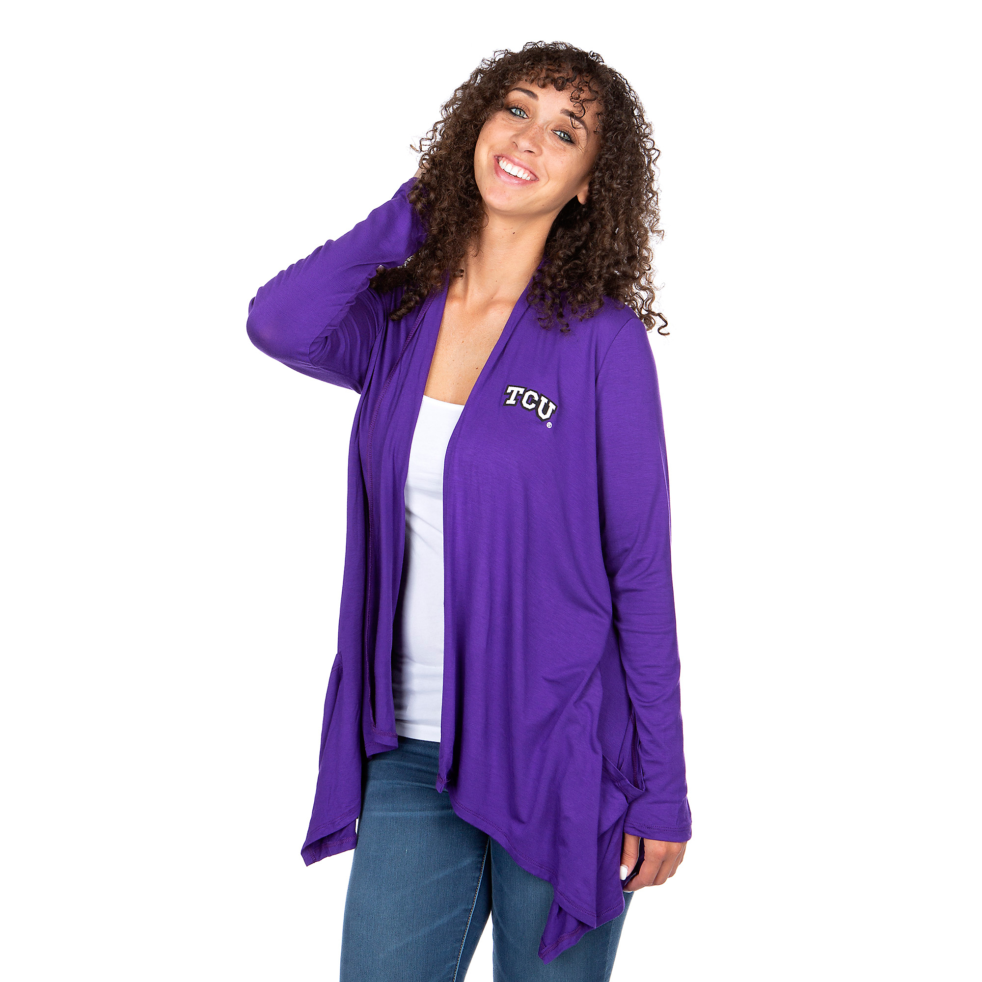 TCU Horned Frogs Womens Gameday Couture Carry On Cardigan