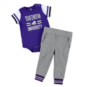 TCU Horned Frogs Colosseum Infant Boys Long Run Football Onesie and Pant Set