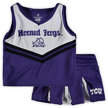 TCU Horned Frogs Toddler Pom Pom Cheer Set
