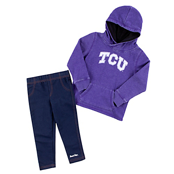 TCU Horned Frogs Colosseum Toddler Girls Shot at the Pros Set