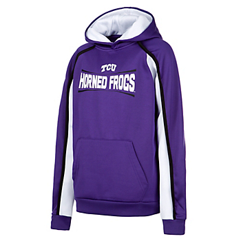 TCU Horned Frogs Colosseum Youth Hook and Lateral Pullover Hoody
