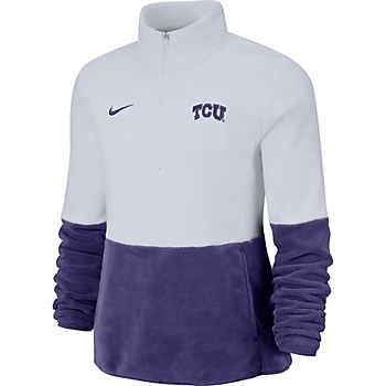 TCU Horned Frogs Nike Womens College Therma Pullover