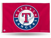 Texas Rangers 3x5 Banner Flag
