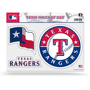 Texas Rangers Bling Team Magnets