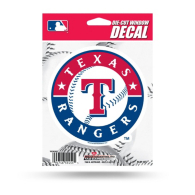 Texas Rangers Die Cut Decal