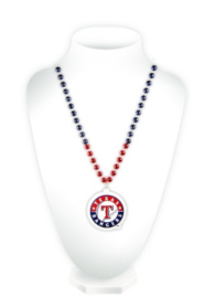 Texas Rangers Medallion Beads Necklace