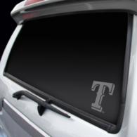 Texas Rangers Window Graphic