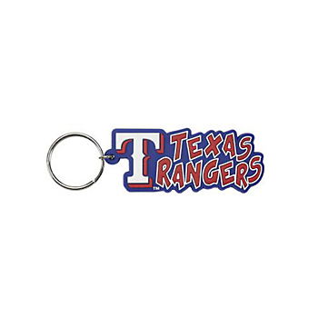 Texas Rangers Impulse Soft PVC Key Ring