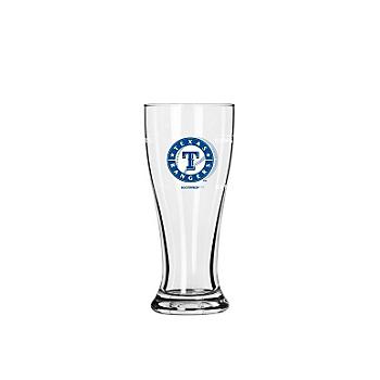 Texas Rangers 2.5 oz Satin Etch Mini Pilsner Shot Glass