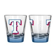 Texas Rangers 2 oz Elite Shot Glass