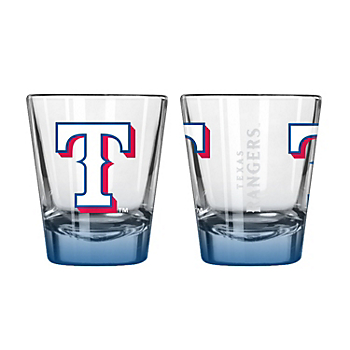 Texas Rangers 2 oz Elite Shot Glass