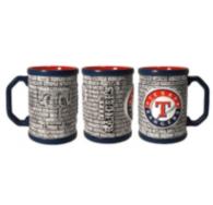 Texas Rangers Stonewall Mug