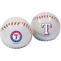Texas Rangers Salt And Pepper Shakers