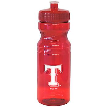 Texas Rangers Squeeze Water Bottle
