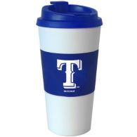 Texas Rangers 16 oz Blue Travel Tumbler