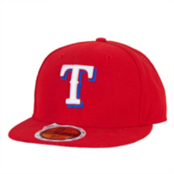 Texas Rangers New Era Authentic Collection Kids Performance Alternate 59Fifty Cap