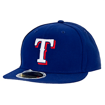 Texas Rangers New Era Authentic Collection Kids Performance 59Fifty Cap